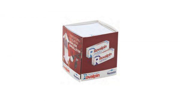 Karton Kutu Çekmeceli Notluk